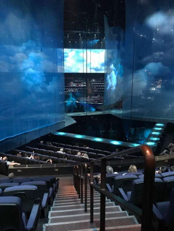 Love Theatre - The Mirage, section: 208, row: S, seat: 18