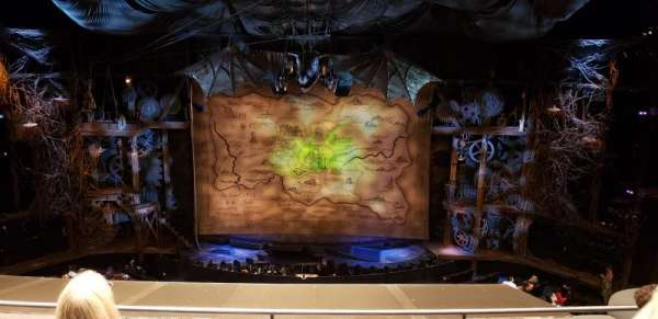Gershwin Theatre, section: Front Mezzanine C, row: D, seat: 111