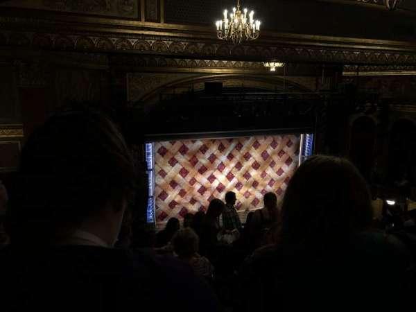 Brooks Atkinson Theatre, section: Rear Mezzanine L, row: L, seat: 5