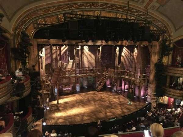 Richard Rodgers Theatre, section: Front Mezzanine L, row: D, seat: 15