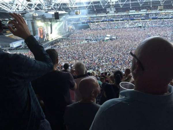London Stadium, section: 235, row: 60, seat: 242