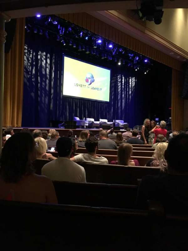 Ryman Auditorium, section: MF-7, row: P, seat: 6