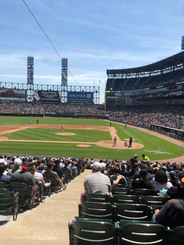 Guaranteed Rate Field, section: 126, row: 28, seat: 12