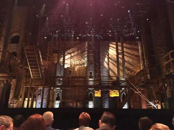 Hollywood Pantages Theatre, section: ORCHESTRA, row: D, seat: 107