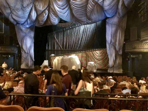 Majestic Theatre, section: Orchestra R, row: M, seat: 10