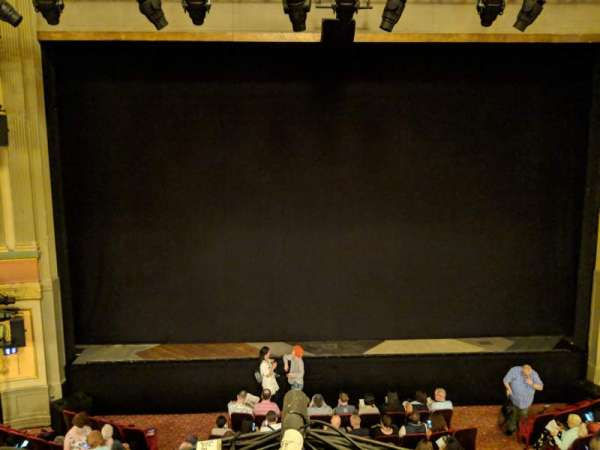 Neil Simon Theatre, section: Front Mezzanine C, row: A, seat: 111