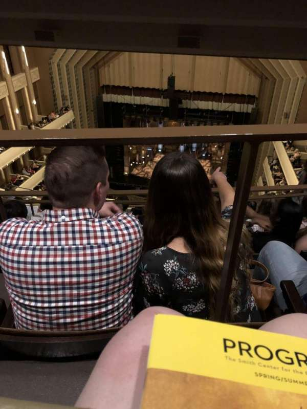 The Smith Center, section: Balcony, row: K, seat: 233
