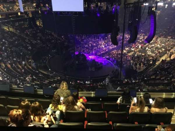 Madison Square Garden, section: 219, row: BS6, seat: 18