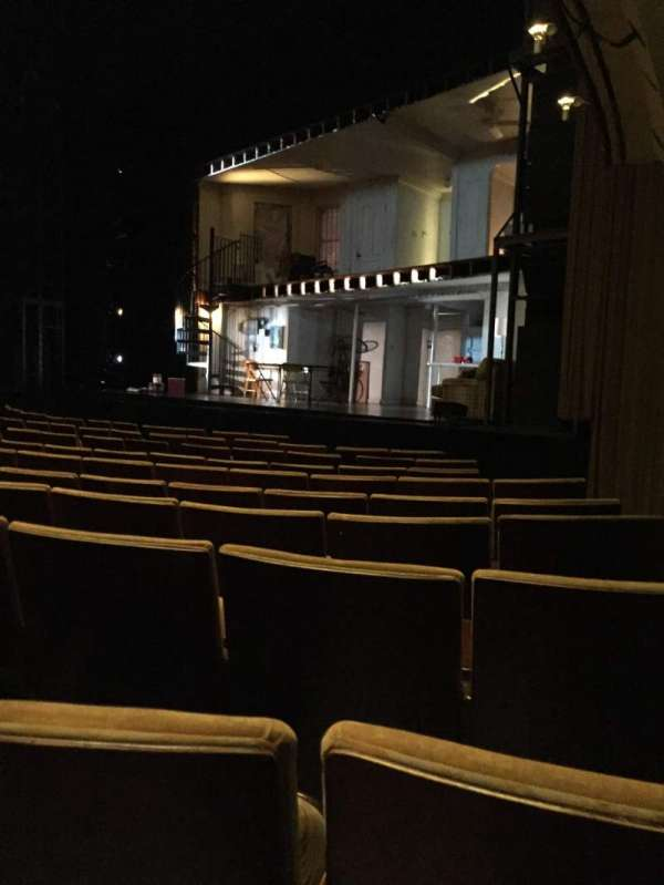 Ahmanson Theatre, section: Orch, row: H, seat: 1