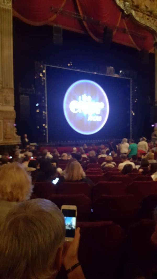Nederlander Theatre (Chicago), section: Orchestra L, row: T, seat: 17