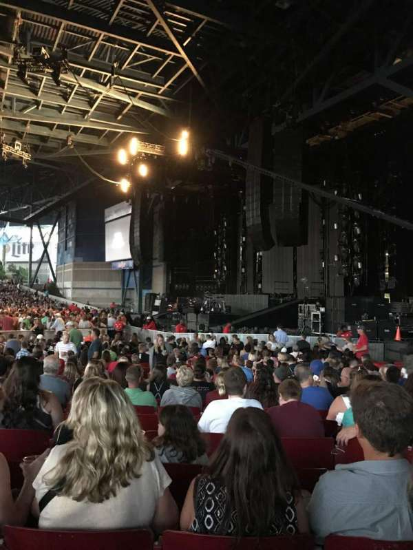 American Family Insurance Amphitheater, section: 1, row: P
