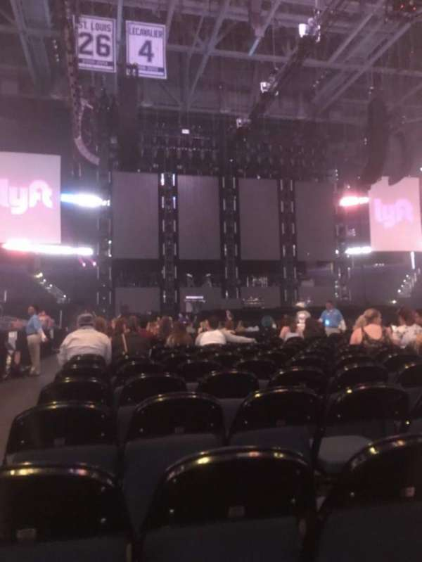 Amalie Arena, section: Floor 6, row: 10, seat: 14