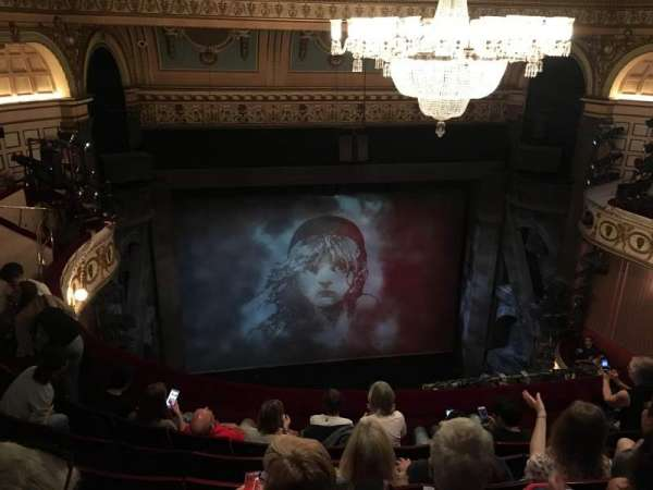 Queen's Theatre, section: Upper Circle, row: F, seat: 11