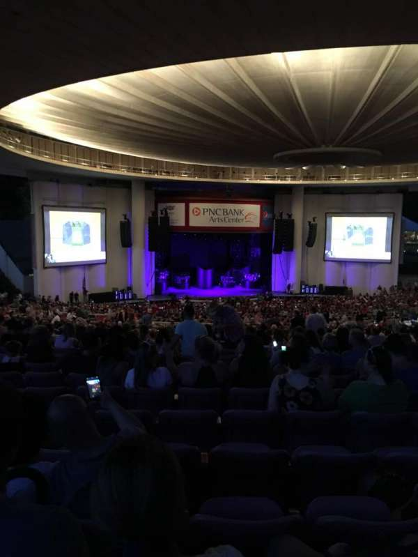 PNC Bank Arts Center, section: 404, row: S, seat: 115