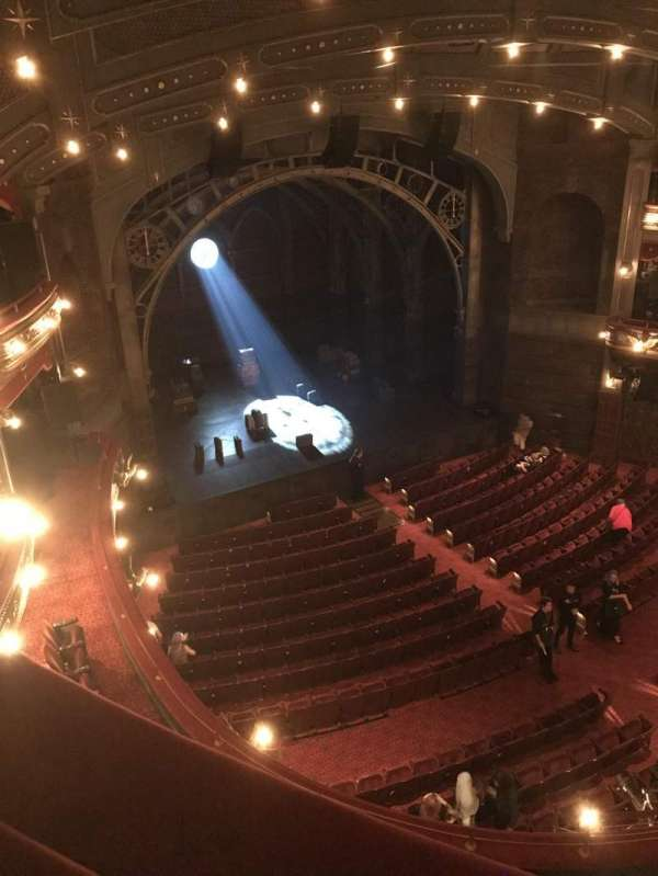 Lyric Theatre, section: Balcony R, row: A, seat: 22