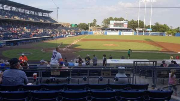 Harbor Park, section: 206, row: S, seat: 12