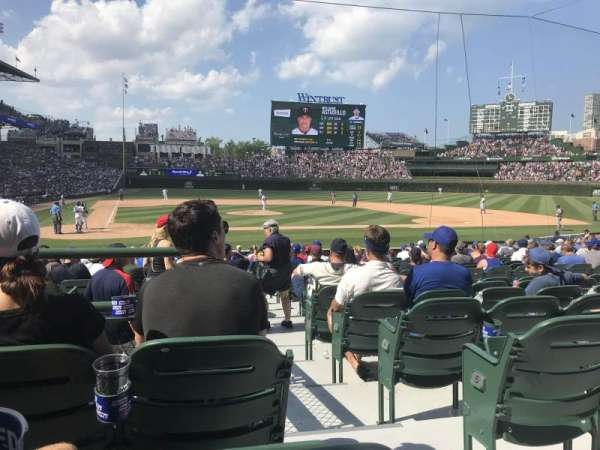 Wrigley Field, section: 126, row: 7, seat: 101
