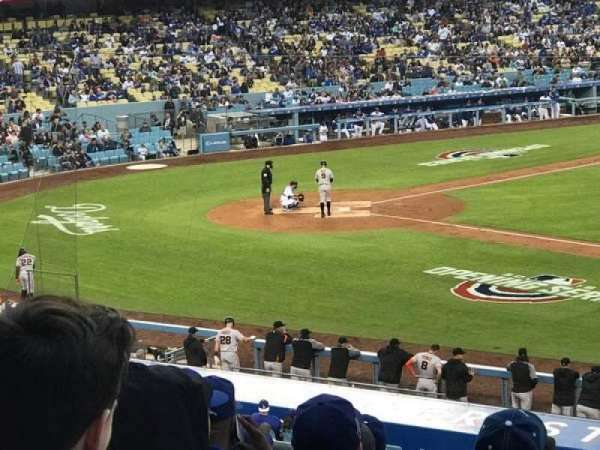 Dodger Stadium, section: 140LG, row: J, seat: 19