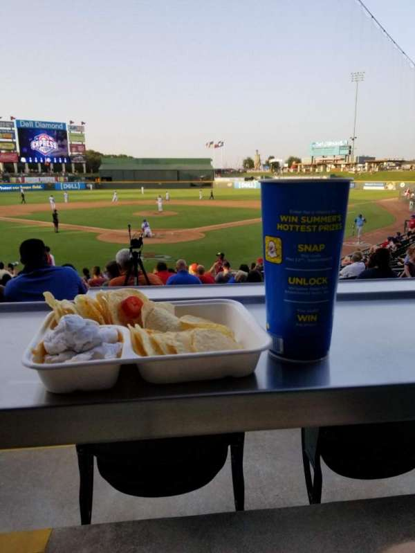 Dell Diamond, section: 119, row: B, seat: 7