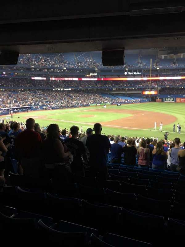 Rogers Centre, section: 114L, row: 34, seat: 109