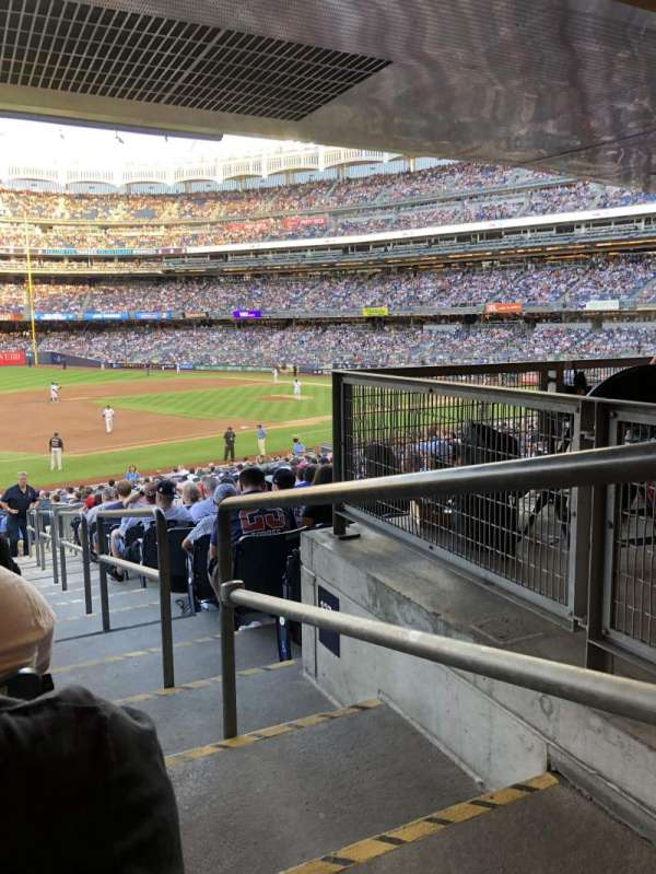 Yankee Stadium, section: 127b, row: 19, seat: 1