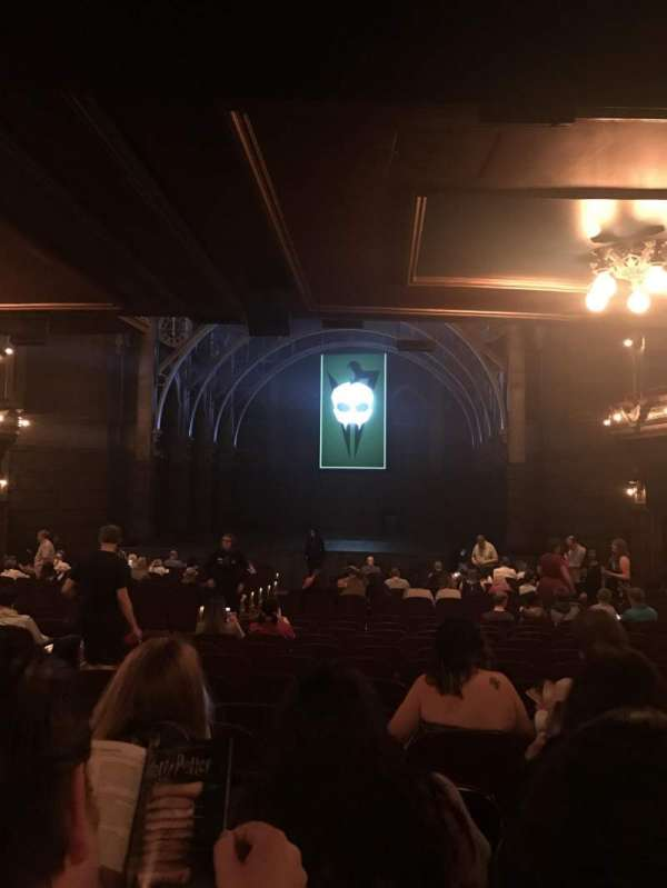 Lyric Theatre, section: Orchestra R, row: W, seat: 8-10