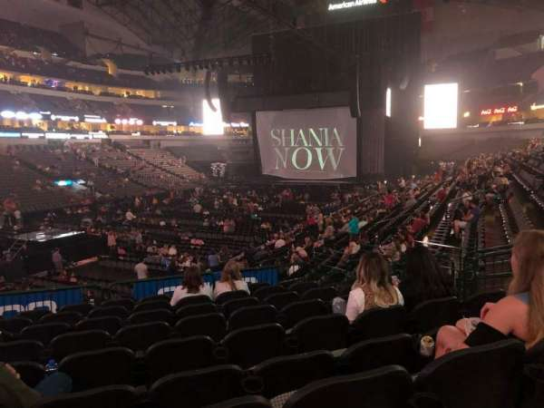American Airlines Center, section: 110, row: V, seat: 12
