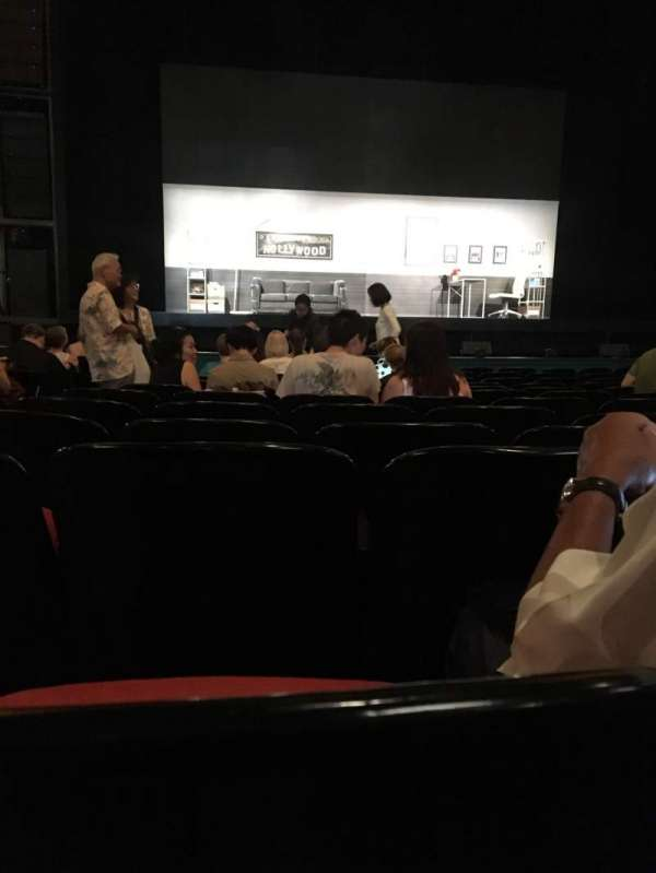 Curran Theater, section: Orchestra, row: N, seat: 102