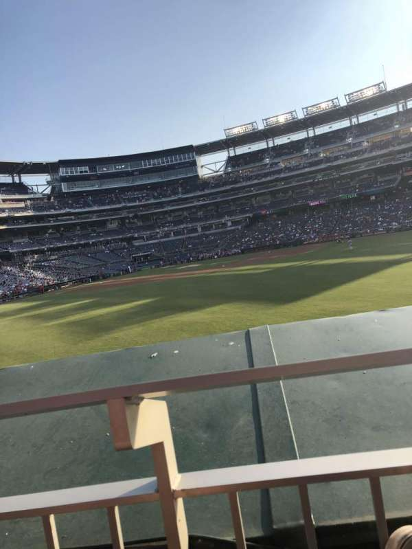 Nationals Park, section: 142, row: A, seat: 18
