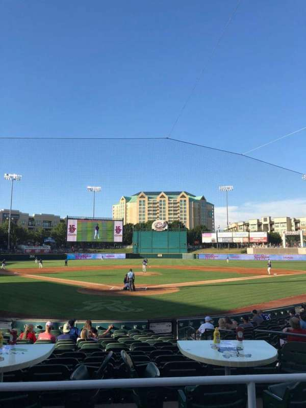 Dr Pepper Ballpark, section: 114, row: 15, seat: 6
