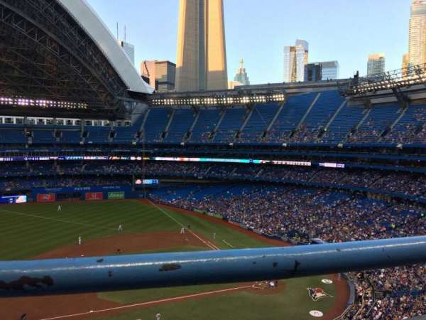 Rogers Centre, section: 530L, row: 1, seat: 102