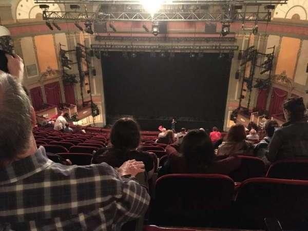 Neil Simon Theatre, section: Mezzanine C, row: T, seat: 117
