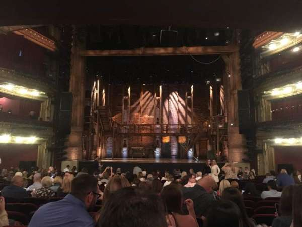 CIBC Theatre, section: Orchestra C, row: V, seat: 111