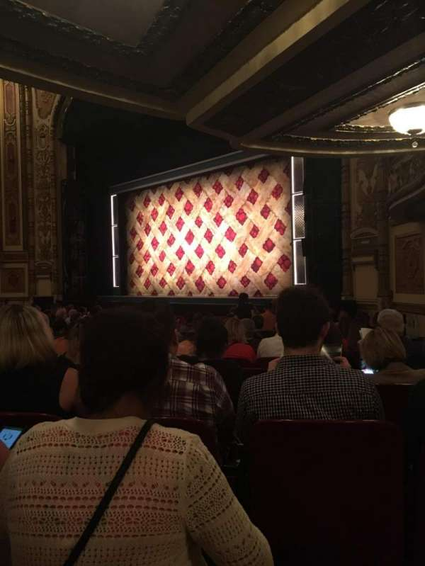 Cadillac Palace Theater, section: Orchestra, row: P, seat: 38