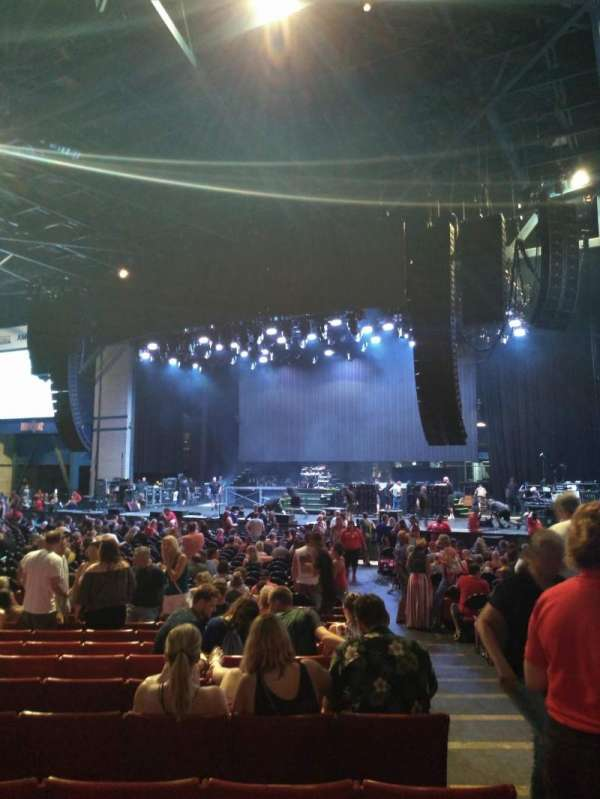 American Family Insurance Amphitheater, section: 2, row: Z, seat: 1