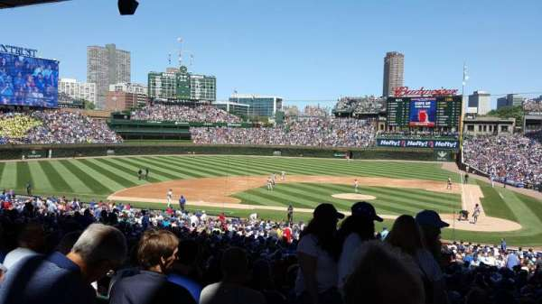 Wrigley Field, section: 214, row: 11, seat: 2