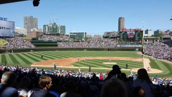 Wrigley Field, section: 214, row: 11, seat: 1