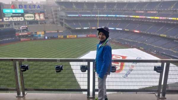 Yankee Stadium, section: 327, row: 9SR, seat: 9