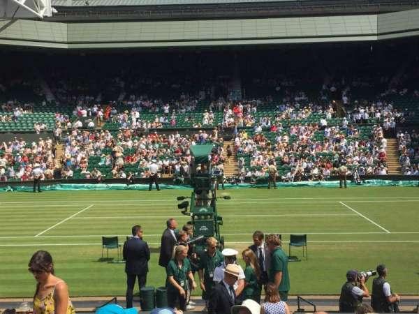 Wimbledon, Centre Court, section: 104, row: L, seat: 27