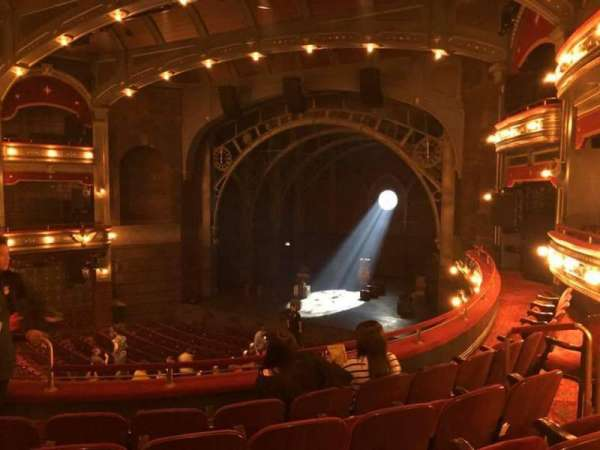 Lyric Theatre, section: Dress Circle R, row: E, seat: 12 and 14