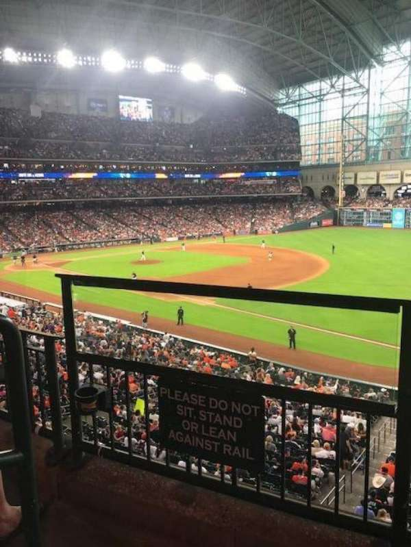Minute Maid Park, section: 231, row: 2, seat: 1