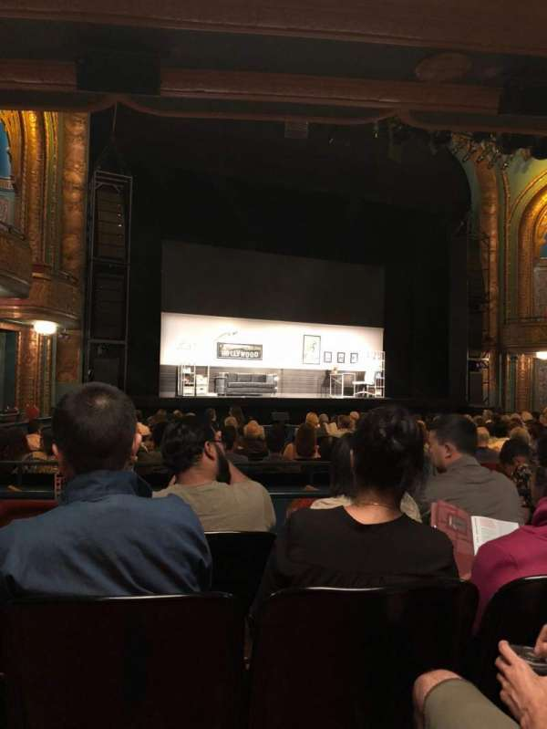 Curran Theater, section: Orchestra, row: S, seat: 15