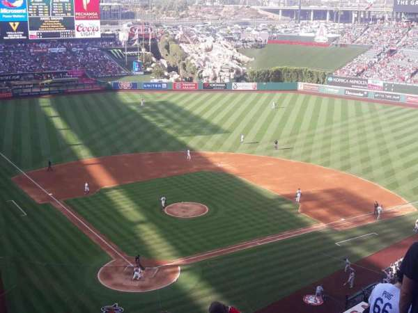 Angel Stadium, section: V523, row: C, seat: 1