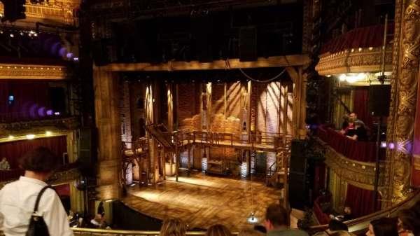 CIBC Theatre, section: Mezzanine R, row: E, seat: 8