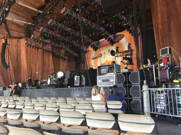 Blossom Music Center, section: 12, row: H, seat: 13