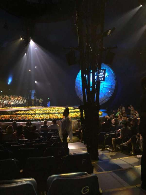 Cirque du Soleil - Luzia, section: 202, row: H, seat: 13