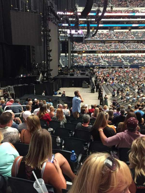 AT&T Stadium, section: 124, row: 14, seat: 7