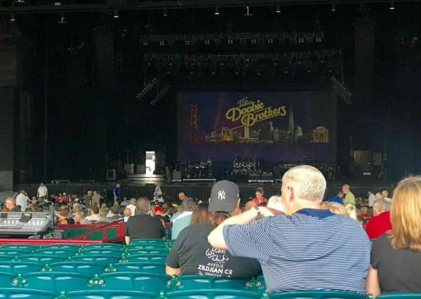 BB&T Pavilion, section: 202, row: Q, seat: 26