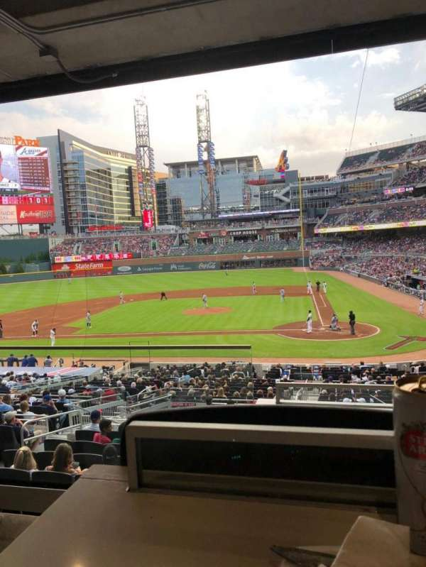 SunTrust Park, section: Champion Suite 10, row: 2, seat: 7