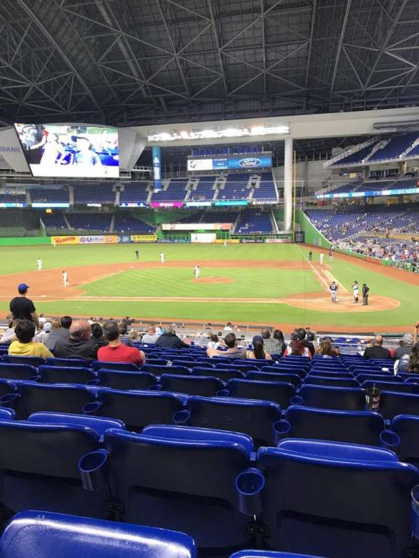 Marlins Park, section: 19, row: 13, seat: 4